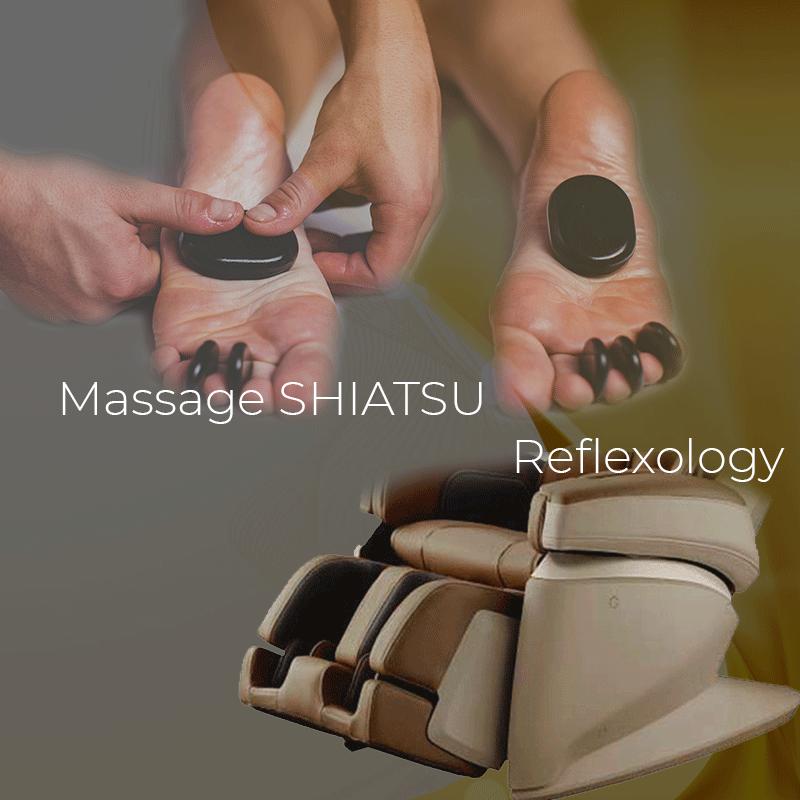 Massage SHIATSU Reflexology