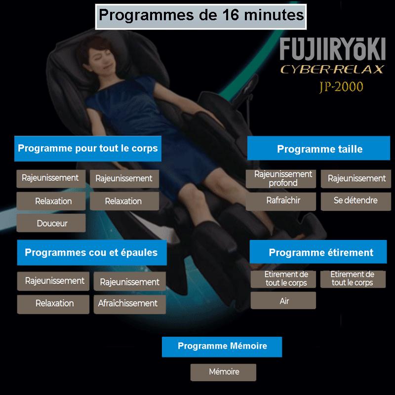 Programmes de 16 minutes