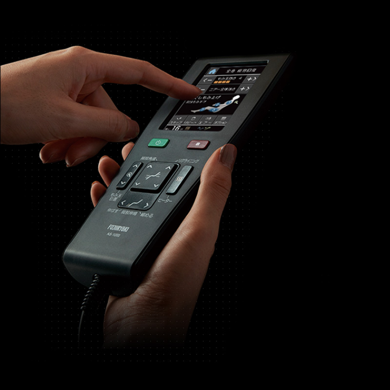 La télécommande avec un écran en couleur et tactile