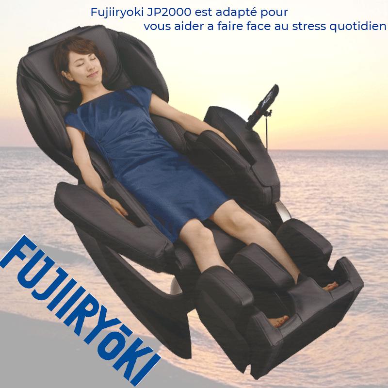 Fujiiryoki JP2000 est adapté pour vous aider a faire face au stress quotidien