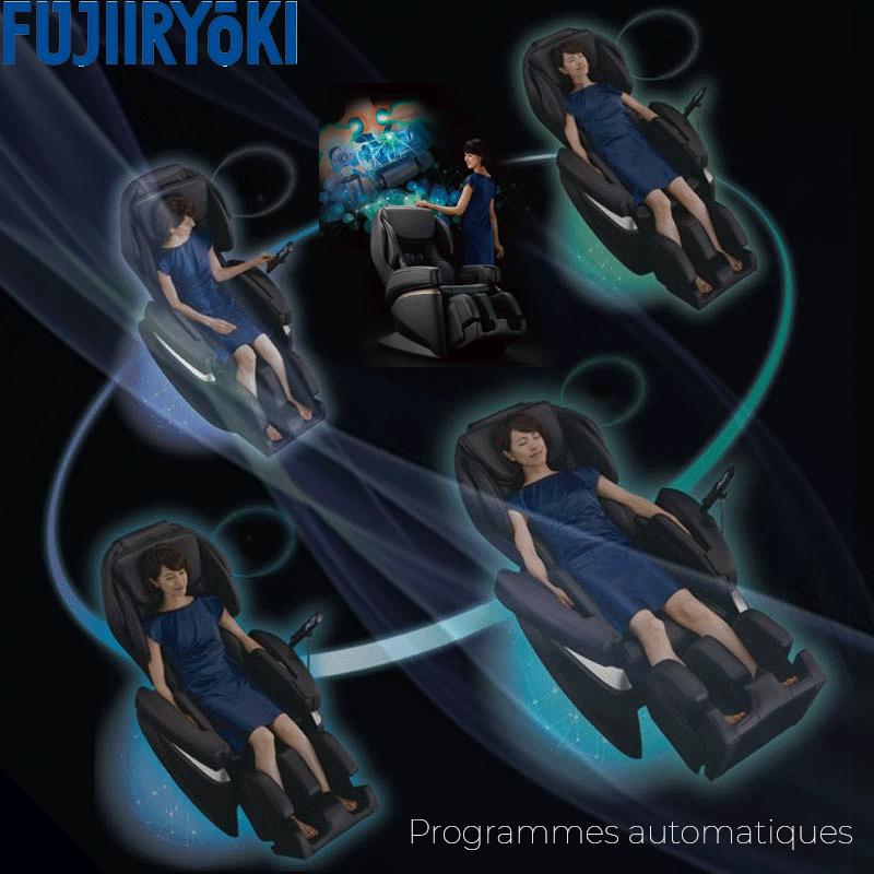 Programmes automatiques du fauteuil massant Fujiiryoki JP-2000
